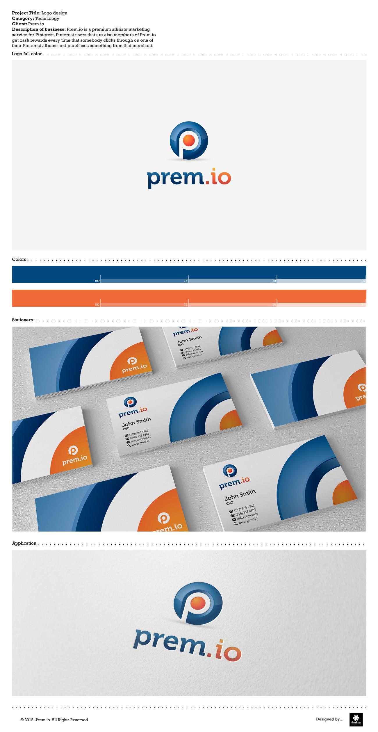 Prem.io needs a new logo