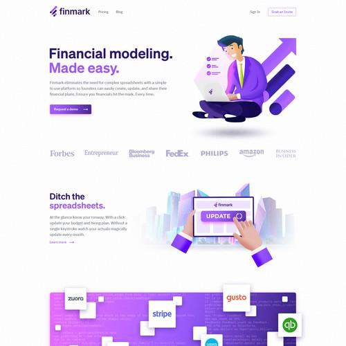 Finmark website