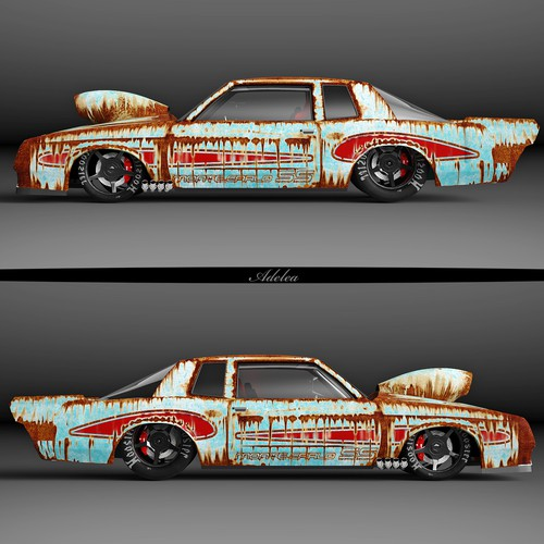 Chevrolet Monte Carlo 1988 wrap design