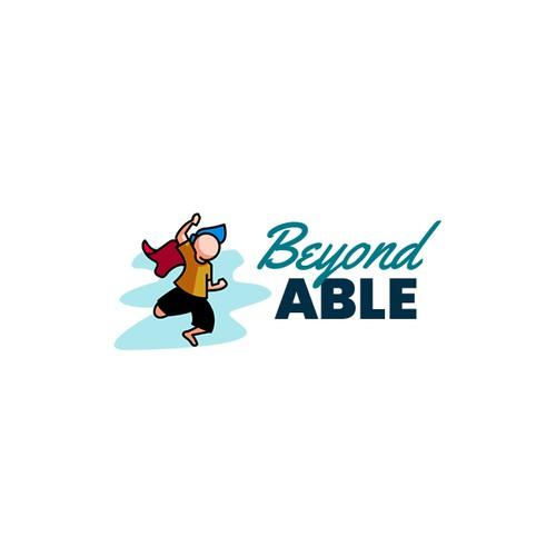 Cartoon Logo Concept for a Children Non-Profit Organization