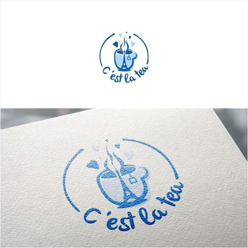 Logo design for a Tea Shop in Paris