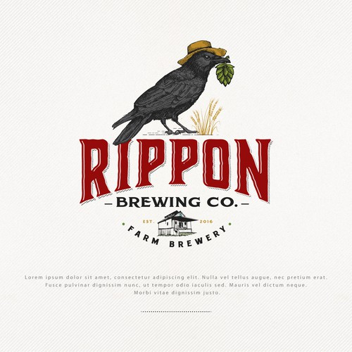 Logo for Rippon Brewing co