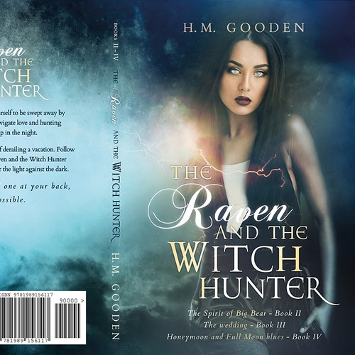 'The Raven and the Witchhunter' by H. M. Gooden