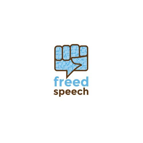 FreedSpeech Logo Concept