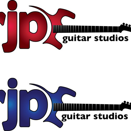 Logo for a Guitar Studio