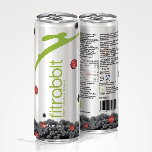 Slim Can Product Label