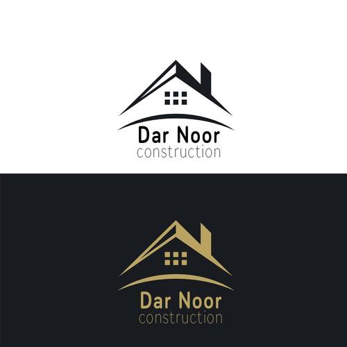 Construction Logo for Dar Noor