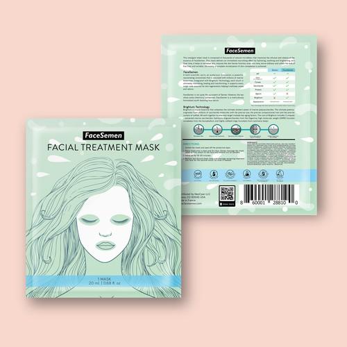 Facial Mask Packaging Design