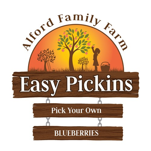 Logo/Sign for Pick Your Own Farm