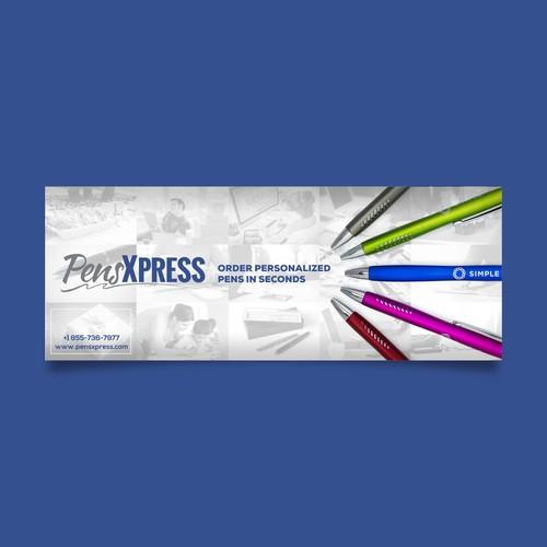 Facebook Cover for PensXpress