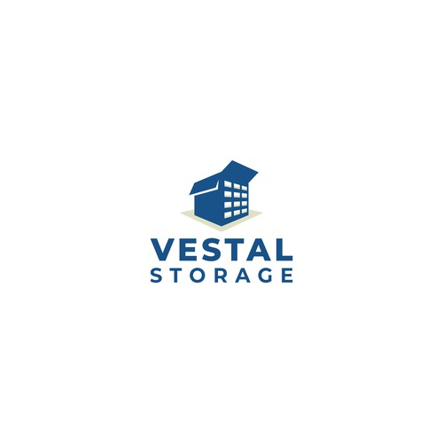 "Logo design for Service Storage Facility ""Vestal Storage"""