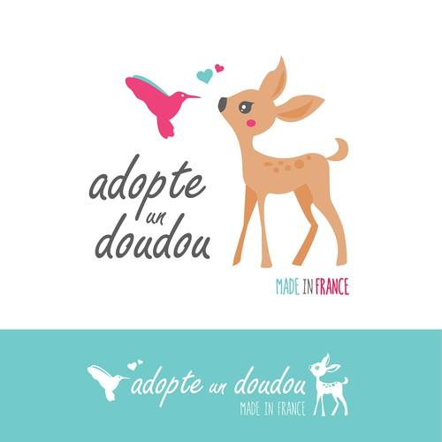 Logo for plush animal company