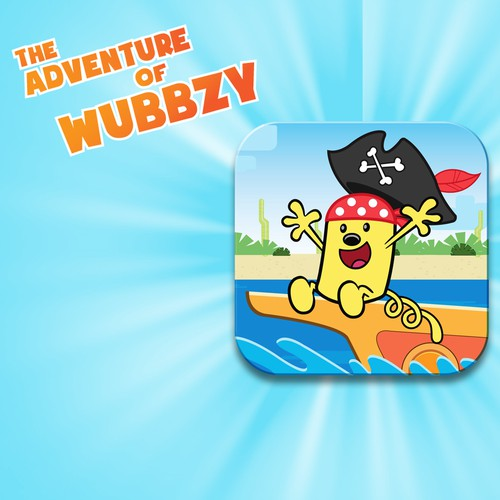 Design The Next Storybook App Icon for Wow! Wow! Wubbzy
