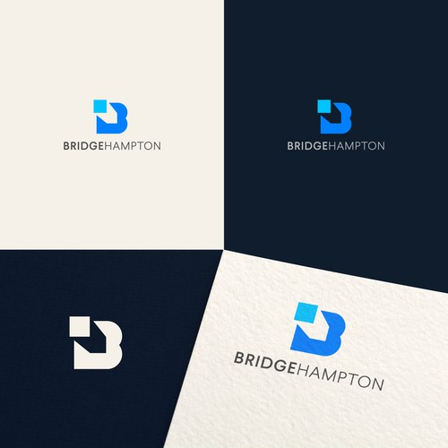 Logo design for Bridge Hampton