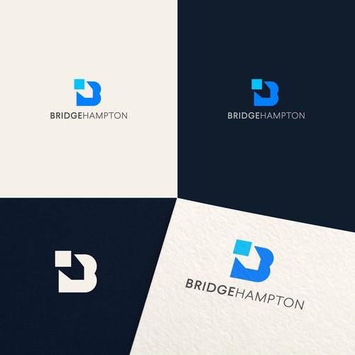 Logo design for Bridge Hampton
