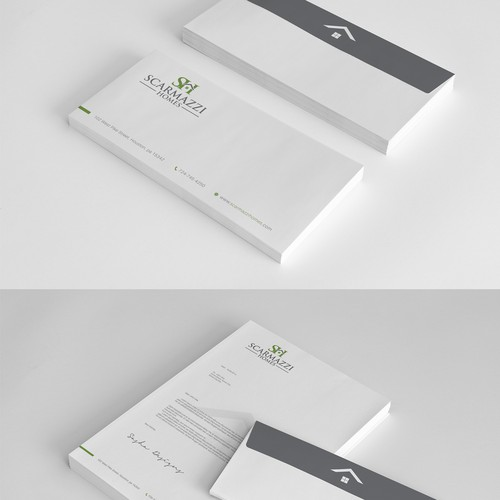 Stationery for Scarmazzi Homes