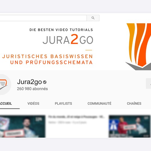 Youtube banner for Jura2go