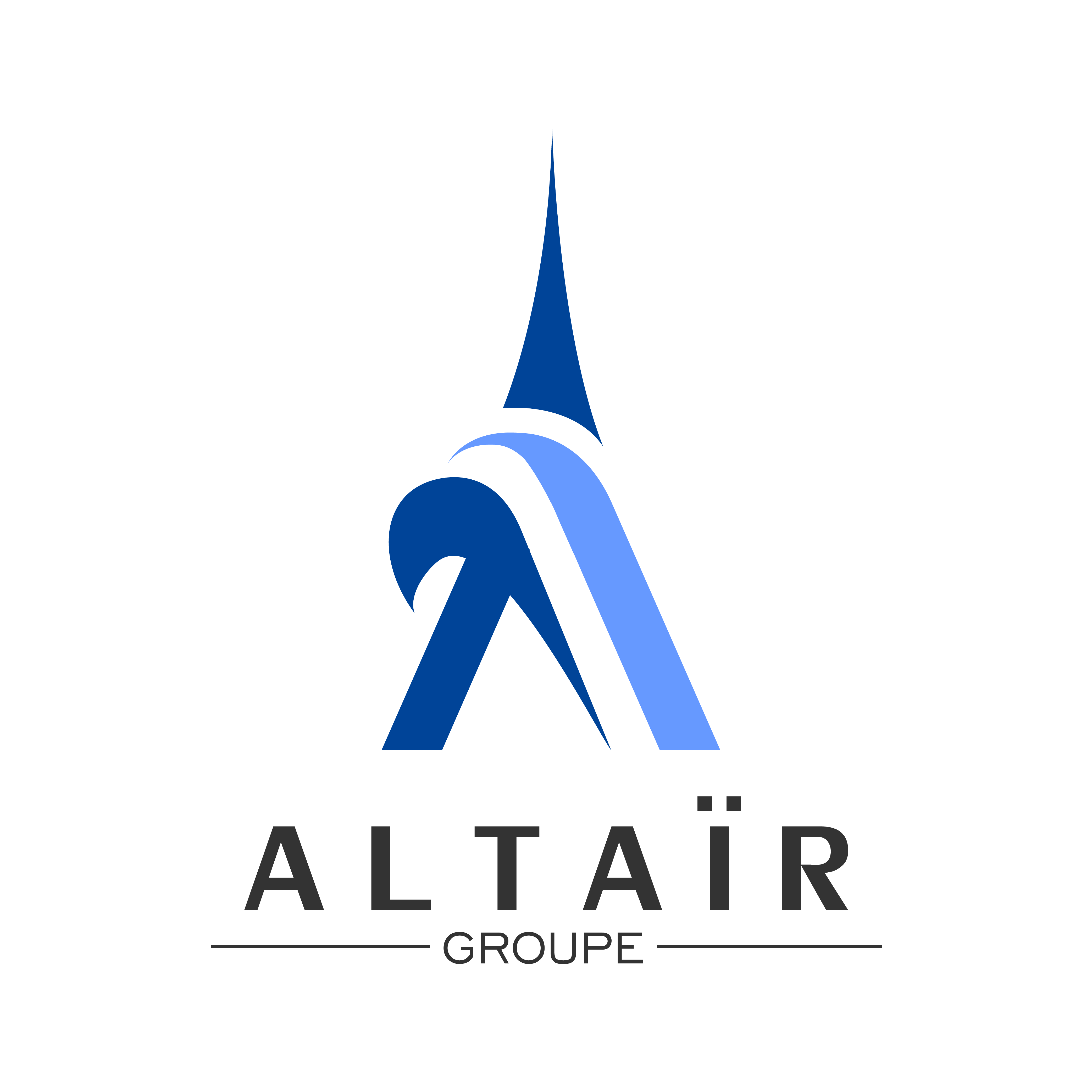 A new and refreshed Logo for ALTAÏR GROUPE