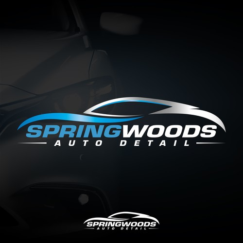 Winning design for Springwoods Auto Detail