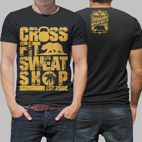 CrossFit Gym in California looking for new shirt design w/ California style