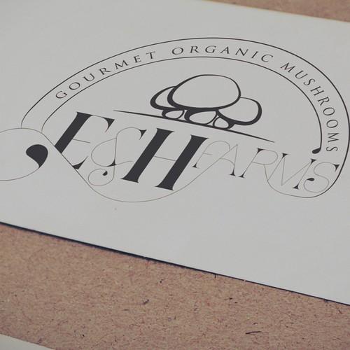 logo for mushrooms farm
