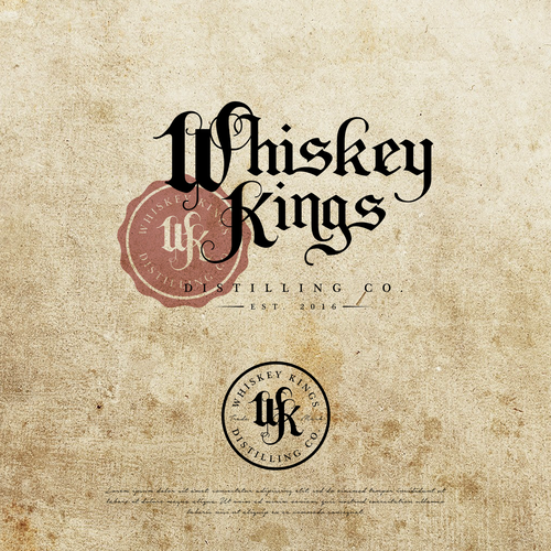 Logo Design Entry for Whiskey Kings