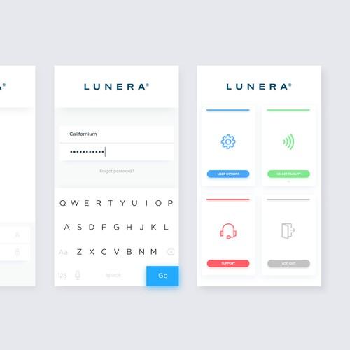 Lunera's Brand new Mobile iOT App