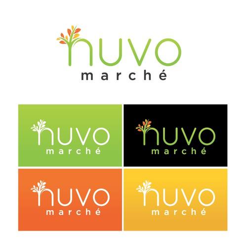 Logo for a market