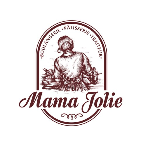 Logo for traditional Italian bakery
