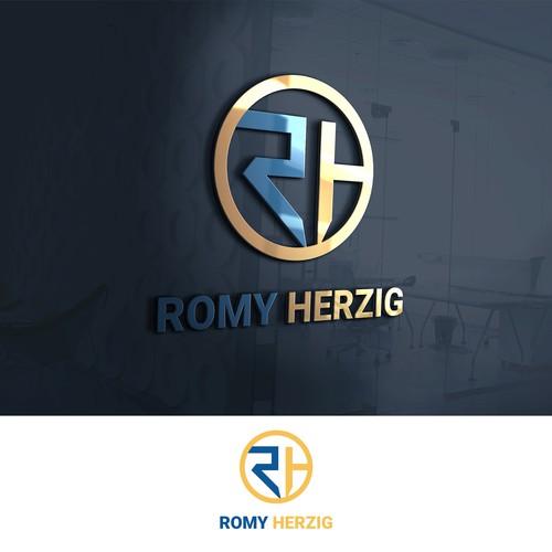 Romy Herzig Logo Design