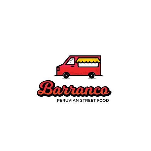 Logo concept for a Peruvian Street food