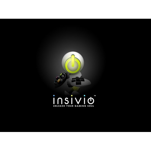 Insivio - Unleash your Gaming Soul   Video Game Accessories Company Logo