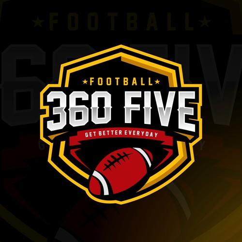 Logo mascot for football team