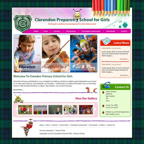 Clarendon School for Girls Website