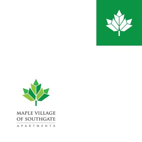 Mapple Leaf Canada Logo Concept