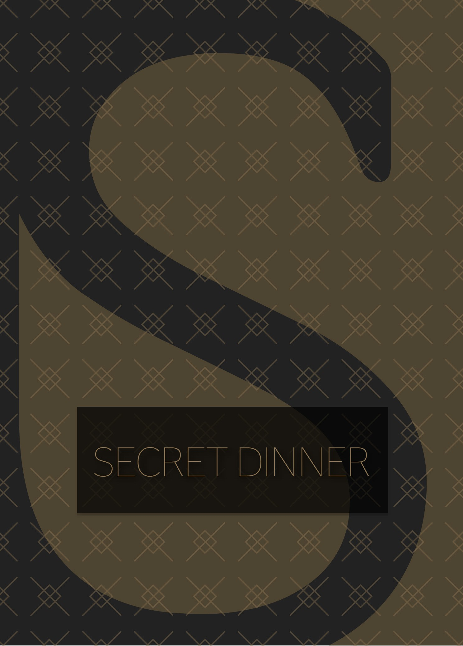 Pokercard SECRET DINNER