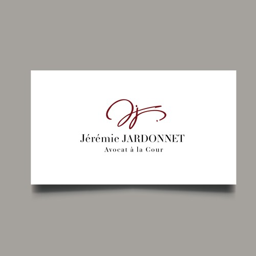 Logo signature for avocat