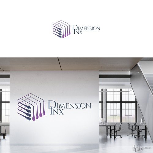 logo for dimension inx