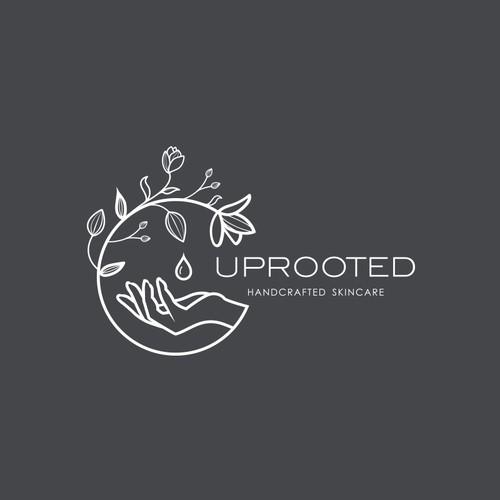 Logo concept for handmade skin care oil