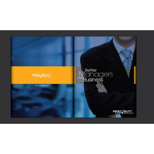 Contemporary brochure for ProfitAbility