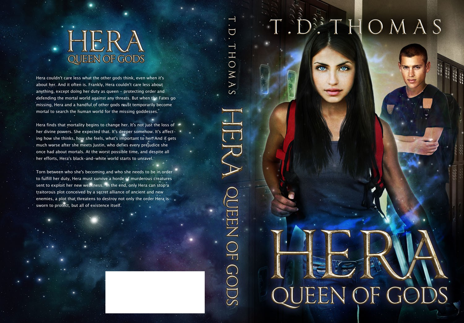 Help T.D. Thomas: Need an eye-catching book cover for an urban fantasy novel