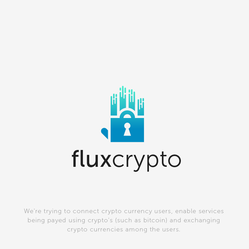 Bold FluxTech logo for Flux Crypto