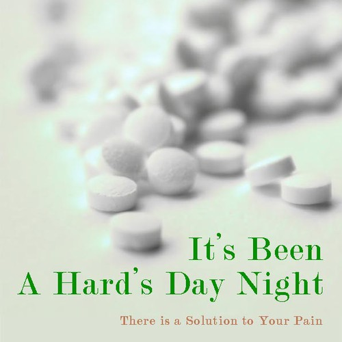 """3-D Book Cover Design Contest for New """"Pain Relief"""" Book"""