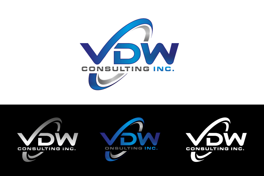 Create a capturing modern logo for VDW Consulting Inc.