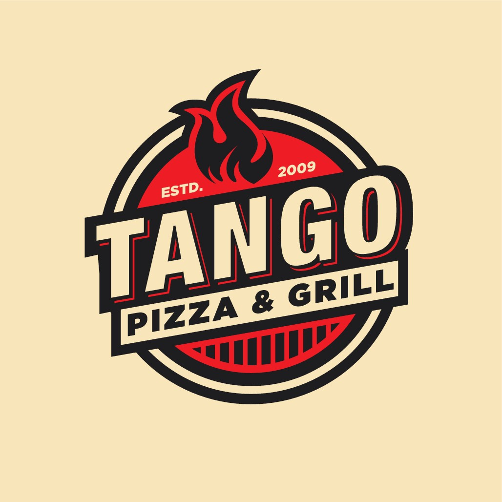 Design  responsive, architectural, fun, metaphorical,  typographical logo for pizza and gril place