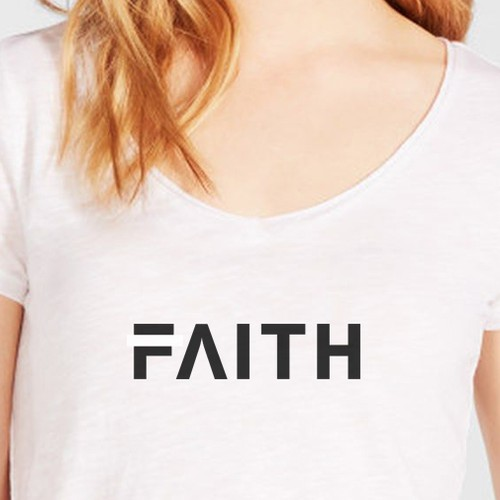 women's t-shirt for a new brand FAITH