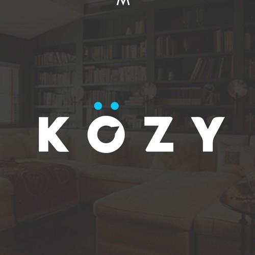 KOZY logo design
