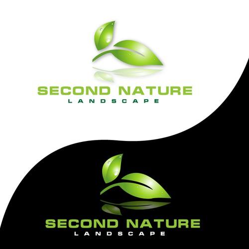 Second Nature Landscape Logo Design