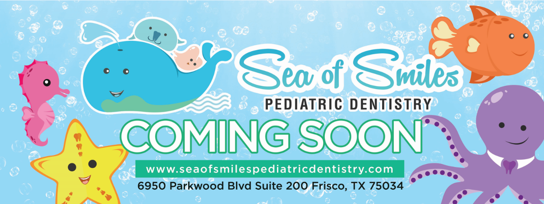 Sea of Smiles Pediatric Dentistry Marketing Materials