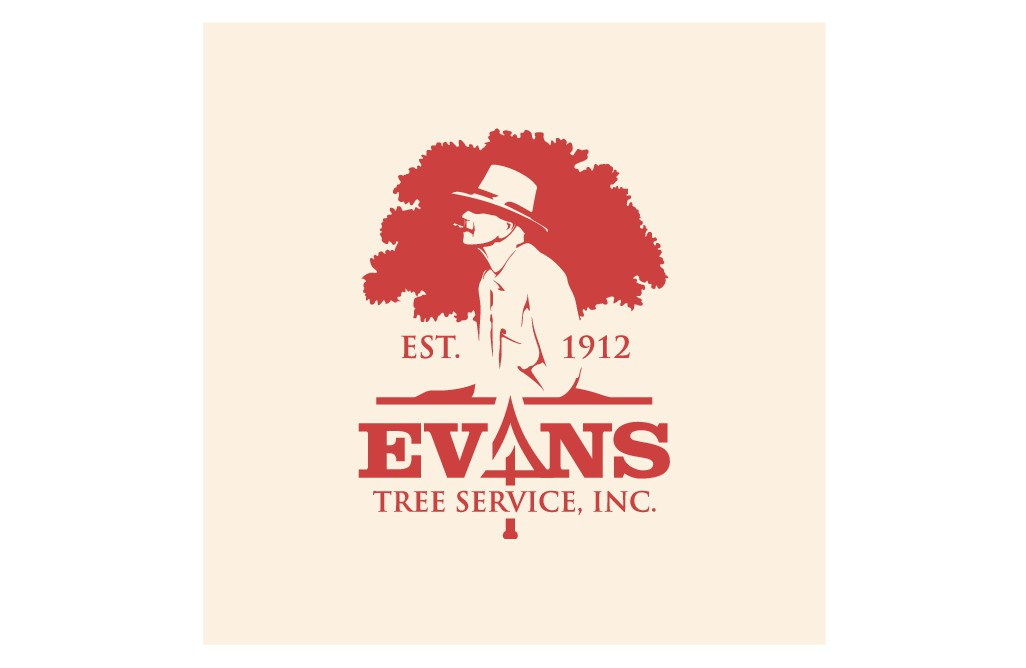 Evans Tree Service Logo Refresh